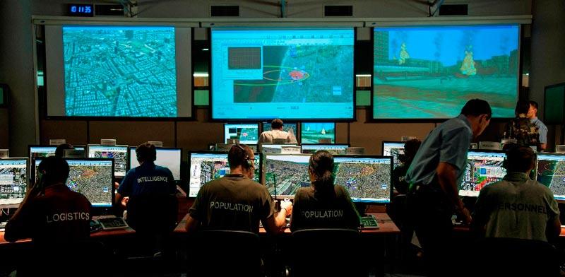 Elbit Systems training simulator