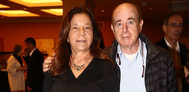 גרינברג יפית ובעלה בני ארד / צילום:  צילום לנס הפקות