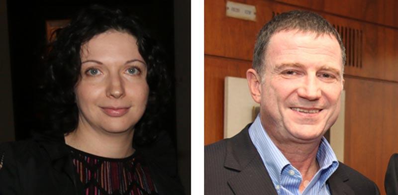 יולי אדלשטיין ואירנה נבזלין / צילום: דוברות הכנסת ויוסי כהן
