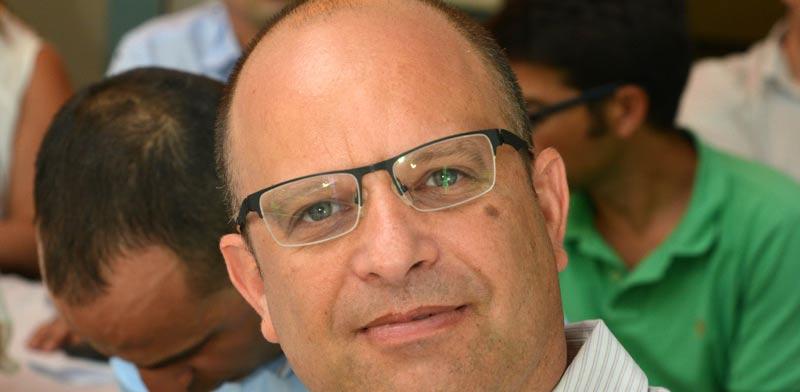 """עו""""ד אמיר ברטוב / צילום: תמר מצפי"""