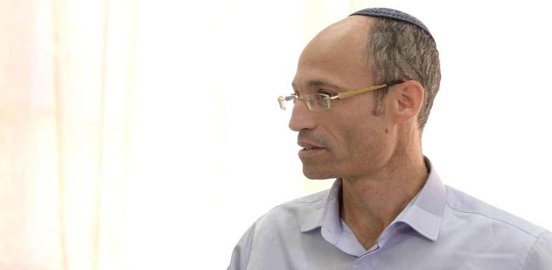 דוידי פרל ראש מועצת גוש עציון / צילום:מארק ניימן-לע``מ