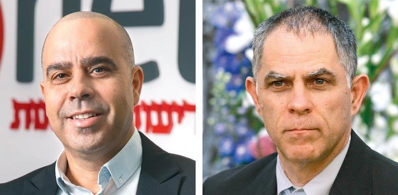 נוני מוזס (מימין) ואבי בן טל / צילומים: מגד גוזני, ירון ברנר