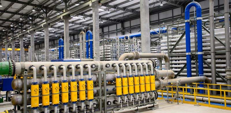 Ashdod desalination  plant Photo: Naftali Hilgar
