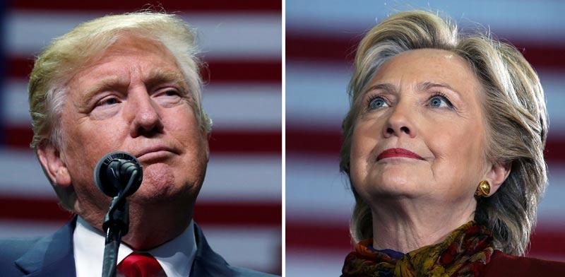 הילארי קלינטון דונלד טראמפ  , בחירות  / צילום: רויטרס