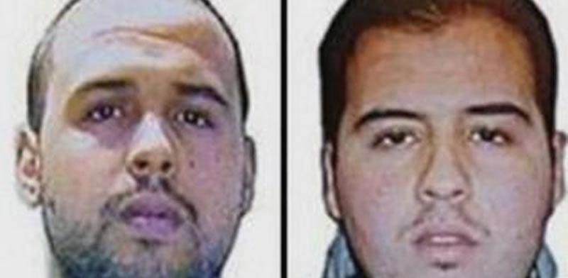 שני המחבלים שהתפוצצו בשדה התעופה / צילום: מסך