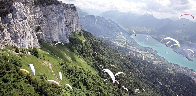 ההרים שמסביב לאגם אנסי / צילום: באדיבות לשכת התיירות הצרפתית