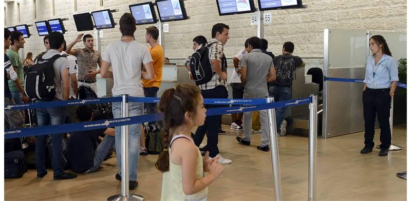 Ben Gurion Airport  photo: Tamar Matsafi