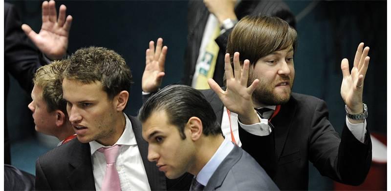 ירידות בבורסה (צילום: רויטרס)
