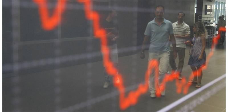 Stock market falls Photo: Reuters
