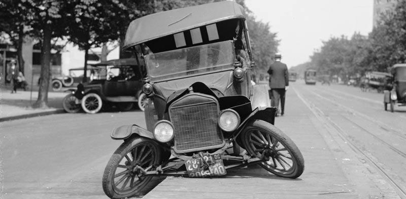 מכונית הרוסה בוושינגטון הבירה / צילום:  Shutterstock/ א.ס.א.פ קרייטיב