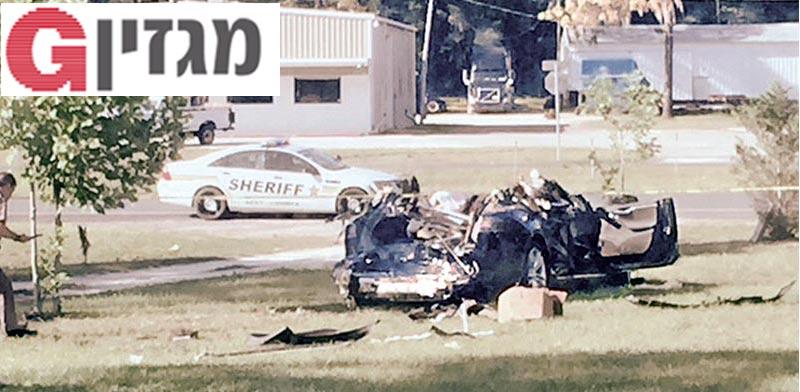 התאונה בפלורידה / צילום: רויטרס