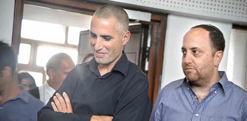 שי בן דוד ודוד אדרי / צילום: תמר מצפי