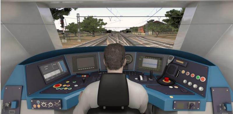 Railway driver simulator Photo: PR