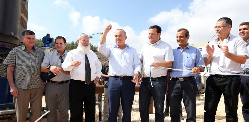 מסתמן פתרון למשבר המים ביהודה ושומרון