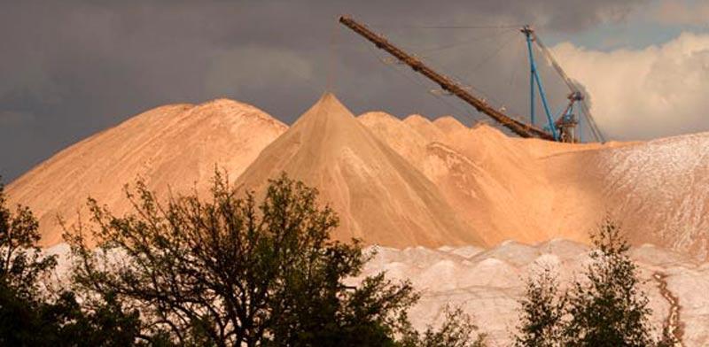 מכרה אשלג / צילום:רויטרס