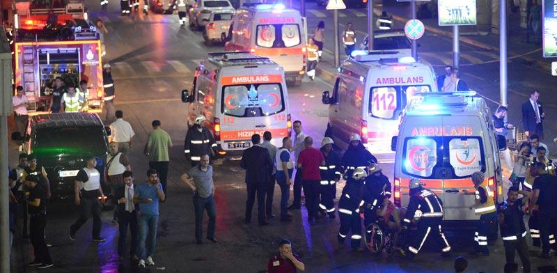 פיגוע בשדה התעופה של איסטנבול טורקיה, טרור, דאע``ש / צילום: רויטרס