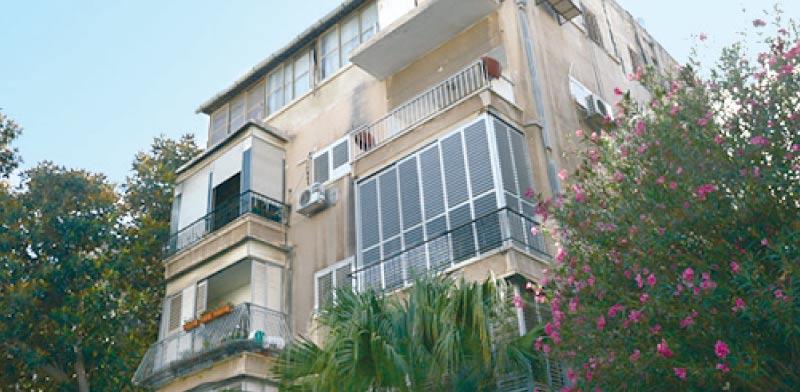 רחוב משה בן עזרא תל אביב / צילום: איל יצהר