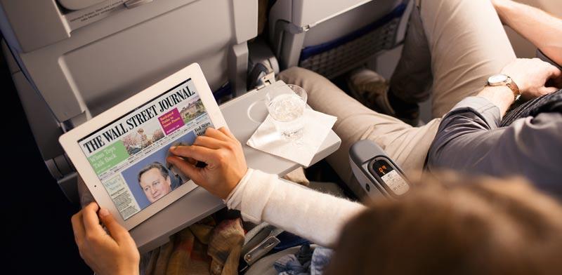 """ה-eJournals, האפליקציה שמאפשרת קריאה נוחה בעיתונים ומגזינים בכל השפות/ צילום: יח""""צ"""