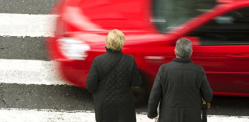 תאונה במעבר חצייה  / צילום:  Shutterstock/ א.ס.א.פ קרייטיב