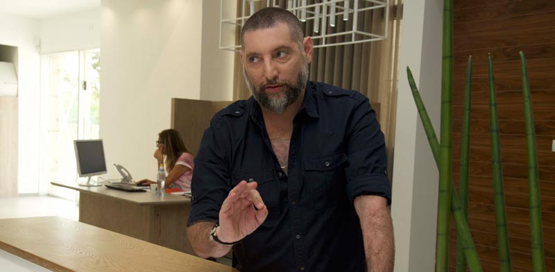 אסף גרניט קמפיין סנגל/צילום:יחצ דני לוי