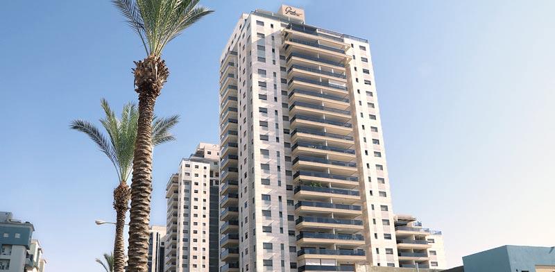 המגדל ברחוב ישראל גלילי / צילום: אמיר מאירי