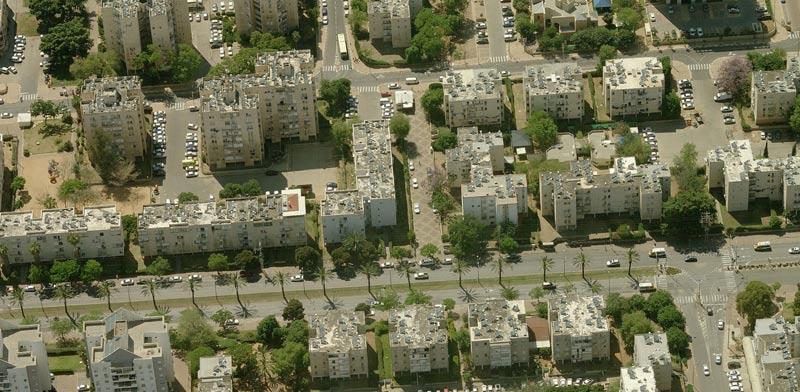 מתחם ברחוב בן צבי נתניה/ צילום:יחצ