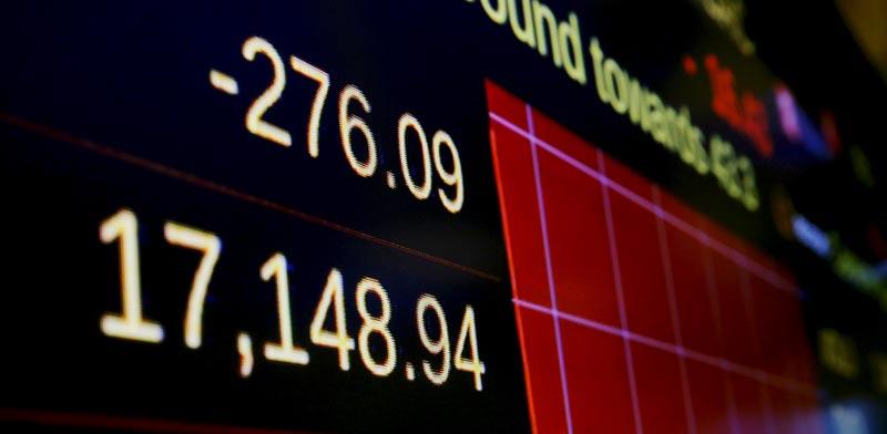 ירידות בבורסה / צילום: רויטרס