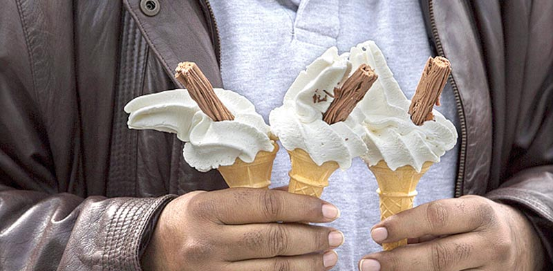 גלידה. הסוכר דומה לאלכוהול / צילום: רויטרס