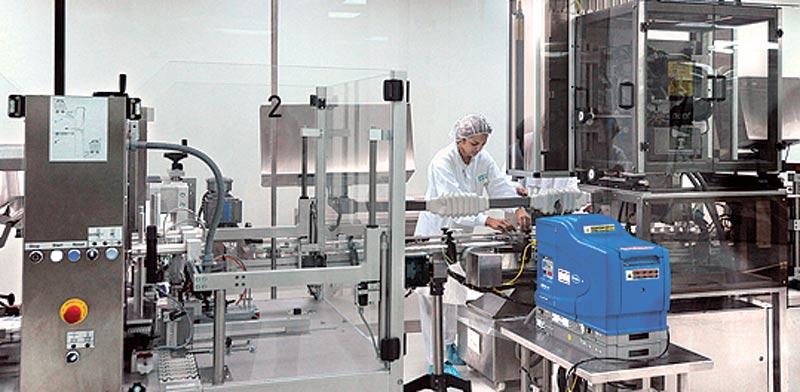 מפעל תרופות בישראל / צילום: בלומברג