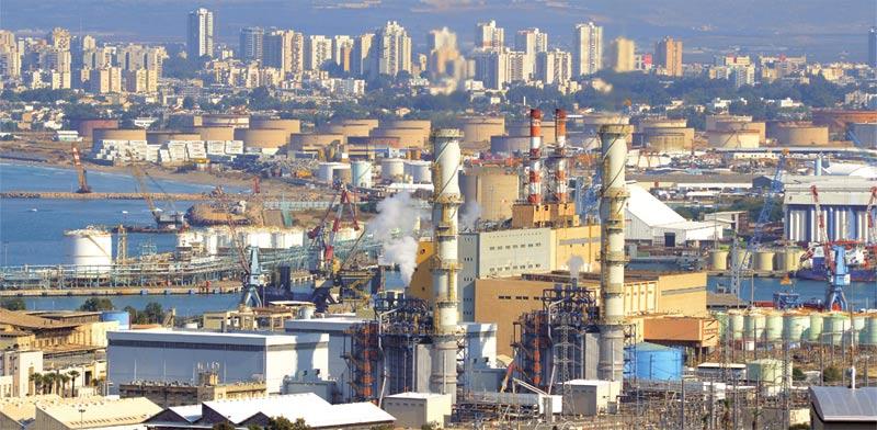 Haifa power plant