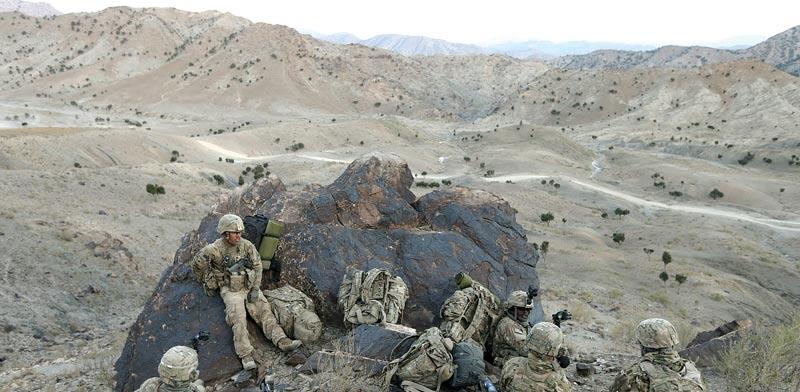 חיילים אמריקאים באפגניסטן / צילום: רויטרס
