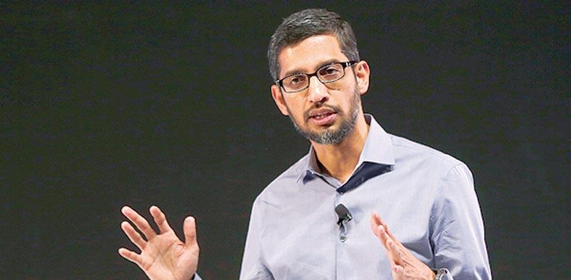 """מנכ""""ל גוגל, סונדאר פיצ'אי / צילום: רויטרס"""