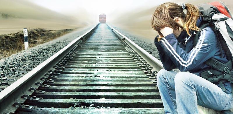 התאבדות אילוסטרציה / :צילום: Shutterstock/ א.ס.א.פ קרייטיב