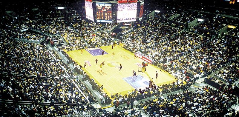 איצטדיון של קבוצת לוס אנג'לס לייקרס / צילום:  Shutterstock/ א.ס.א.פ קרייטיב