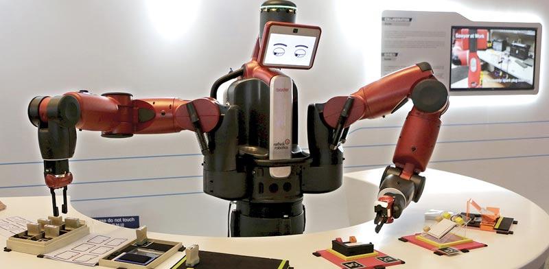 Robots Photo: Reuters