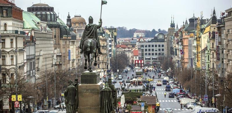 פראג, בירת צ'כיה / צילום: בלומברג