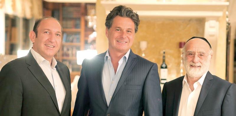 Niso, Fabrice & Raphael (Photo: Ouria Tadmor)