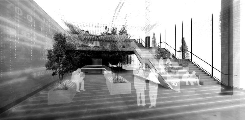 פרויקט של האדריכל פיליפלי. רצף של סביבות משתנות / צילום: Business Wire