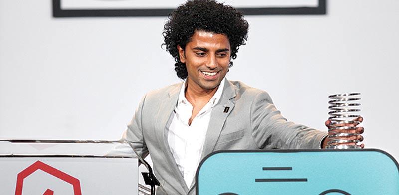 אחד המייסדים של  Foursquare  / צילום: רויטרס
