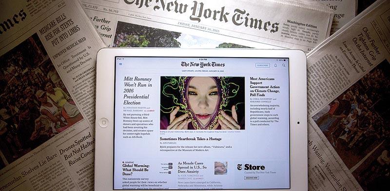 ניו יורק טיימס / צילום: בלומברג