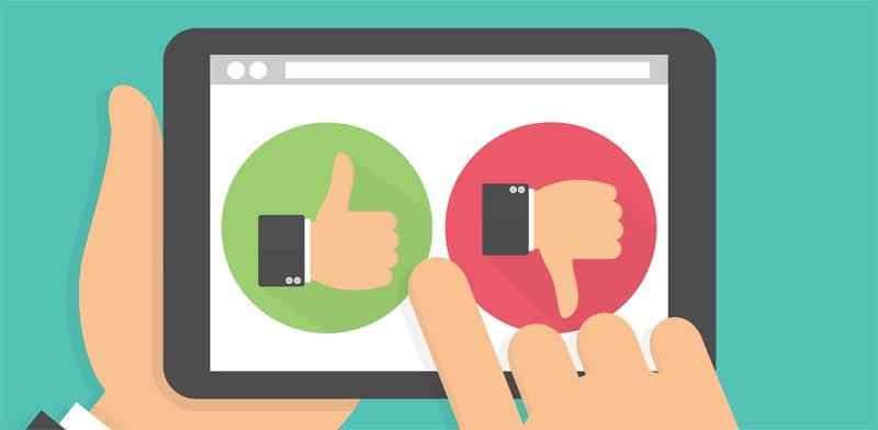 ביקורת שלילית / צילום:  Shutterstock/ א.ס.א.פ קרייטיב