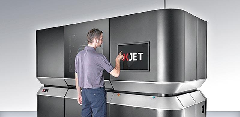 """מדפסת של XJet / צילום: יח""""צ"""