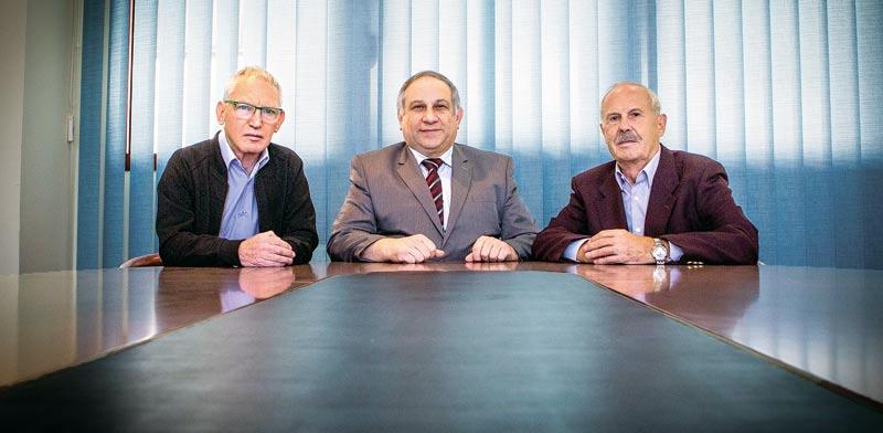 מייסדי פורום טכנולוגיות הנדסיות / צילום:שלומי יוסף