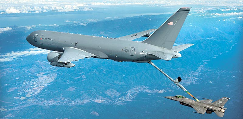 KC 46 refuel plane