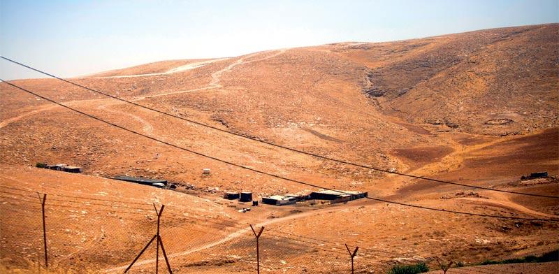 השטח עליו אמור לקום היישוב / צילום: ליאור מזרחי