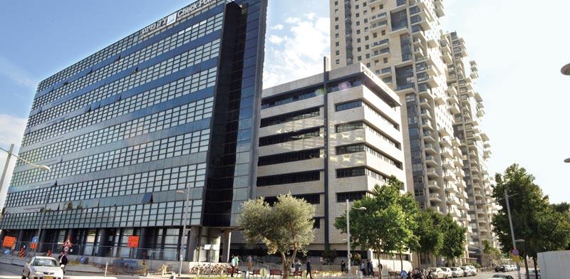 בניין צ'ק פוינט בביצרון / צילום: תמר מצפי