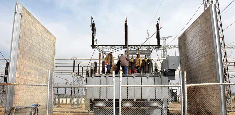 תחנת הכוח בעזה / צילום: בלומברג