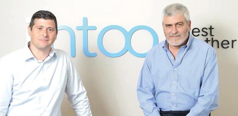 מייסדי iintoo, דב קוטלר וערן רוט / צילום: תמר מצפי