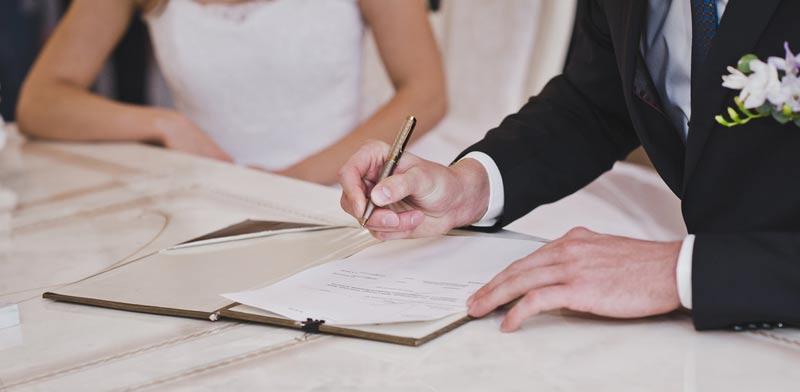 הסכם ממון או הסכם רכוש / צילום: Shutterstock, א.ס.א.פ קריאטיב