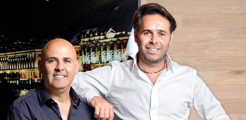 ברק רוזן ואסי טוכמאייר, בעלי השליטה בחברת ישראל קנדה / צילום: איל יצהר